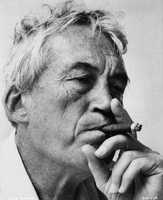 John Huston (1906-1987) - American film director, screenwriter and actor. He wrote the screenplays for most of the 37 feature films he directed, many of which are today considered classics