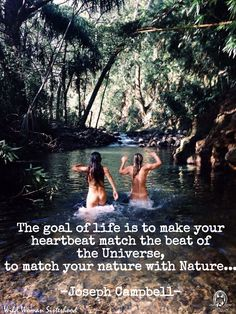 The goal of life is to make your heartbeat match the beat of the Universe, to…