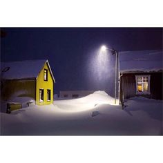 For todays takeover we will be featuring the snowy scenes of photographer Christophe Jacrot (@christophe.jacrot) who captured this solitary house in #Iceland. His book SNJÓR is an ode to the country and its snow. Iceland is less wild and untouched than it first appearsthere are major highways huge tunnels villages ports churches cities and WiFi access everywhere the artist writes for the book I reveled in this ocean of white seemingly so empty and yet so 'inhabited. // #landscapelovers…