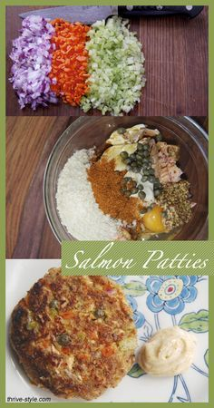 World's Best Salmon Patties! Paleo because of the breadcumbs - use substitute. Also, substitute aminos for worcestershire.