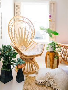 Justina Blakeney Zahra Peacock Chair