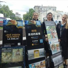 """1,064 Likes, 16 Comments - The Best Life Ever (@jw_the_best_life_ever_) on Instagram: """"Public witnessing with multilingual carts in Kyiv Ukraine Photo shared by @lee_sora_kerengapuh"""""""
