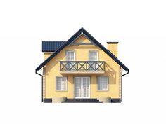 Проект Z1 представляет собой очаровательный и практичный дом с мансардой в традиционном стиле.