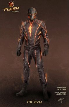 'The Flash': Original Concept Art Revealed For Kid Flash, The Rival, & Black Siren - Page 3 of 3 - Heroic Hollywood