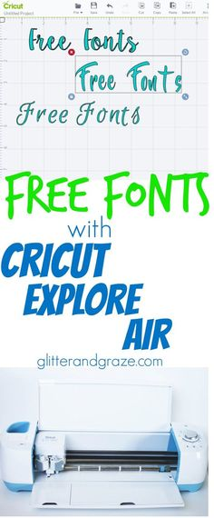 Why pay for fonts through Cricut when you can get them for free? Easy instructions of where and how to download fonts to use in Cricut design space.