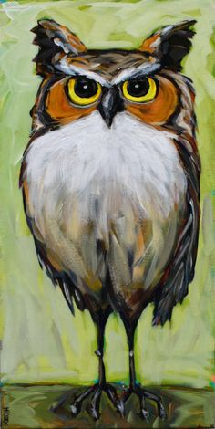 Otto 12 x 24 Acrylic on Canvas by Kandice Keith