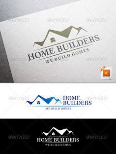 Home Builders Logo - Buildings Logo Templates