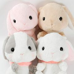 picture of Pote Usa Loppy Fur Color Plushies (Big) 1