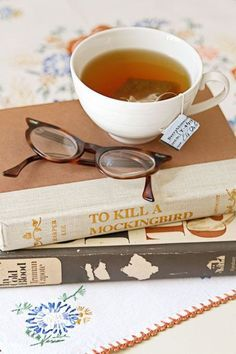 tea and a book <3