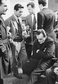 Luchino Visconti and Pier Paolo Pasolini.