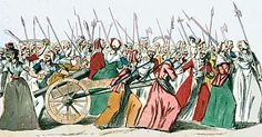 1789- Organized European feminism first sprouts in Revolutionary France, as it will again in the revolutions of 1848 (when it will also spread to Germany) & 1871, suffering setbacks during the Napoleonic regimes. By the 1850s, European feminism will have spread to Russia, where its repression will move many women into the revolutionary camp there.