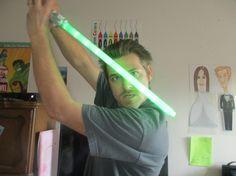 STAR WARS LIGHTSABER ATTACKS! (30th vlog)