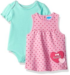BON BEBE Baby Girls 2 Piece French Terry Jumper Set With Lap Shoulder Short Sleeve Bodysuit Pink hearts 69 Months ** Click the picture for added details. (This is an affiliate link). Newborn Clothing, Newborn Outfits, Toddler Outfits, Girl Outfits, Baby Jumper, Bebe Baby, Pink Hearts, Babies Clothes, French Terry