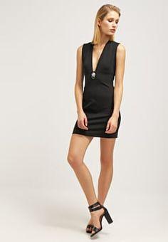 Versus Versace - Sukienka z dżerseju - black
