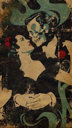 skull dance - day of the dead ~m