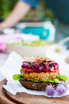 Chickpea burger a la Plancha | Simone's KitchenSimone's Kitchen