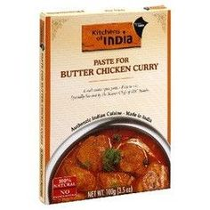 Kitchens Of India Curry Paste Butter Chicken (6x3.5OZ )