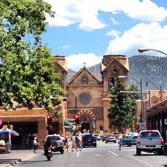Santa Fe, New Mexico...previous pinner posted blog (click on pic to link) that is pretty spot on about the city & area.