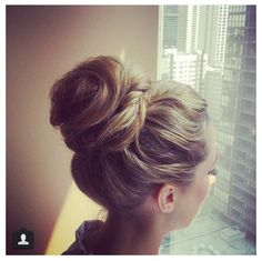 Top knot: always a chic and glamorous do for your Big Day!