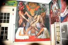 Jose Clemente Orozco was born on November 23, 1883 in Jalisco, Mexico. Like the other two Mexican muralists, Orozco studied art at the San Carlos Academy for Fine Arts in Mexico City.