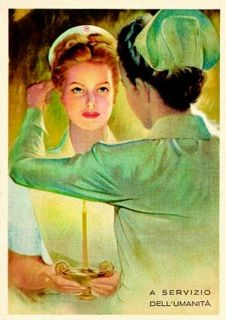 Vintage nurse postcards! | Scrubs – The Leading Lifestyle Nursing Magazine Featuring Inspirational and Informational Nursing Articles