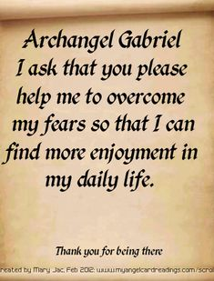 Send a Prayer to the Archangels by CLICKING HERE http://www.myangelcardreadings.com/scrolls It's FREE to do ...