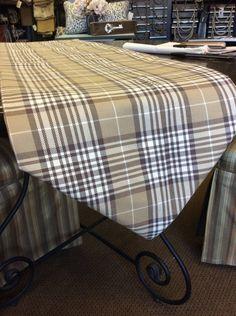 Geometric Burlap Table Runner Rustic Modern Table Runner Custom - Custom dining room table runners