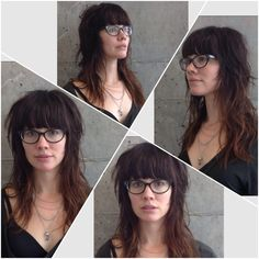 Rock n roll shag bespectacled.   www.tothewoodssalon.com