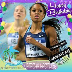 Happy Birthday Natasha Hastings!!! American Sprint Athlete of Jamaican and Trinidadian descent!!! Today we celebrate you!!! @natashahastings #natashahastings #islandpeeps #islandpeepsbirthdays #spinter #juniorolympics