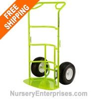 Need a large hand truck for your yard and garden? Free shipping on Large garden hand truck, large landscape hand truck, large potted plant hand truck, large pot hand truck.