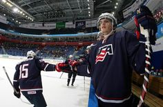 Team USA Trounces Team Slovakia to Advance to Playoff Round