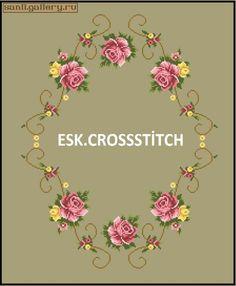 Cross Stitch Tree, Crossstitch, Decorative Plates, Gallery, Cross Stitch Rose, Cross Stitch Embroidery, Game, Roses, Dots