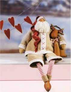 Tilda Santa Pattern, and more...