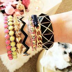 I adore these bracelets <3