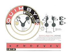 Chris Ware's beautiful work for Quimby's Bookstore in Chicago.