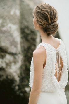 #bridalhair #weddinghair #messyupdo #updo #hairstyle Photography Brit Gill and Kat Willson, Katie Elwood Makeup and Jen Mathison Hair
