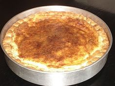 Authentic Greek Recipes: Greek Milk Pie (Galatopita) This is a delicious, healthy and refreshing pie. Personally, I prefer to eat it after it has been kept in the fridge. Lovely for breakfast . or any other time of the da Greek Sweets, Greek Desserts, Greek Recipes, Greek Cake, Eat Greek, Sweet Pie, Sweet Tarts, Cypriot Food, Gourmet