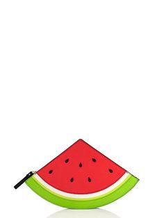 splash out watermelon clutch - kate spade new york