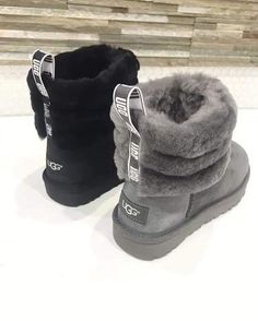 FrenchEconomie™️ Winter 2019 Footwear: UGG Types Of Shoes, Sneaker Boots, Bootie Boots, Heeled Boots, Slipper Boots, Cute Boots, Shoe Collection, Shoe Closet, Dream Shoes