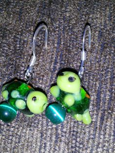 Check out this item in my Etsy shop https://www.etsy.com/listing/150359182/turtle-earrings
