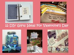 12 Ideias de presentes DIY para o dia de S�o Valentim/ 12 DIY Gifts ideas for Valentine�s Day