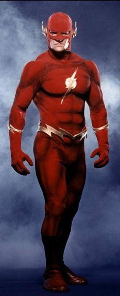 John Wesley Shipp as the original 'Flash' (1990)
