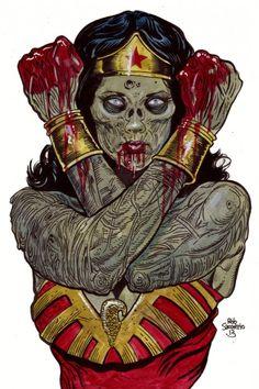 Wonder Woman Zombie