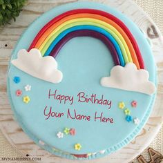 Write Name On Specially Rainbow Birthday Cake. Beautiful Birthday Cake With Name Pictures. Online Name Writing Birthday Cake Profile Image. Amazing Rainbow Colorful Birthday Cake. Create Anything Name Unique HBD Cake. Birthday Wishes Awesome Look Cake Pics. Generate Your Name On Birthday Cake Photo Editing. Best Birthday Wishes Cake DP. Whatsapp And Facebook On Sand or Shear Friend And Family Name Writing Birthday Cake Wallpapers Download Free.