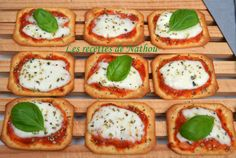 Les recettes de Nathou: Truc - pizzas qui tue !