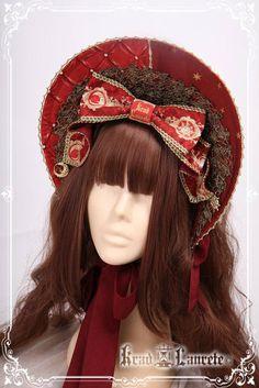 Krad Lanrete The Venice Carnival Bonnet