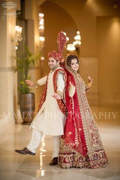 Beutifull bridal open maxi in red color with dull golden and antique golden work Model# W 1194 Indian Wedding Poses, Indian Wedding Couple Photography, Wedding Photography Checklist, Bride Photography, Desi Wedding, Indian Bridal, Couple Wedding Dress, Wedding Couple Photos, Wedding Couples