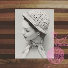 I can see walking down the shore in this hat.  ONLY 99 CENTS! #THEARIANNAHATCROCHETPATTERN0302 #KINDLE #AMAZON #PRINCESSOFPATTERNS #CROCHETPATTERN  #CROCHET #VINTAGE #RETRO #DIY #YARN #WOOL #CROCHET #WOMEN #ACCESSORIES #HATS #ACCESSORY #CAPS #CAP #HAT #WOMAN #LADY #LADIES
