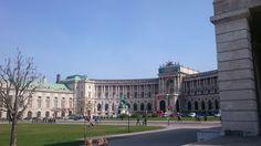 Vienna national library Vienna, Four Square, Louvre, Building, Places, Travel, Voyage, Buildings, Viajes