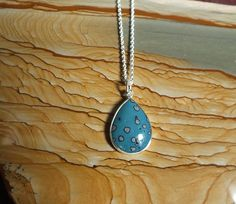 Leland Blue Handmade Sterling Silver Pendant by jamesblanchard, $145.00
